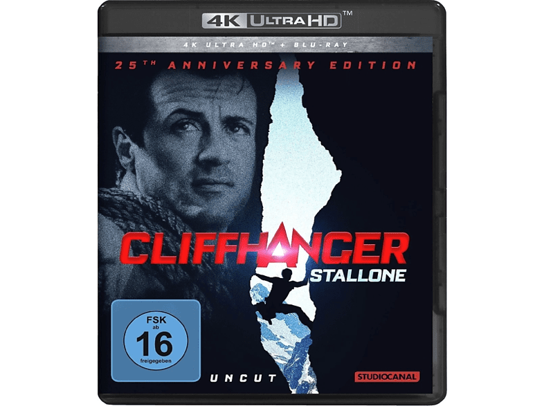 Cliffhanger-25th Anniversary Edition [4K Ultra HD Blu-ray + Blu-ray]
