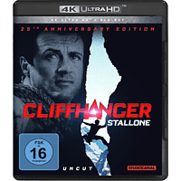 Cliffhanger-25th Anniversary Edition 4K Ultra HD Blu-ray + Blu-ray