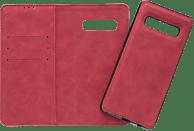 V-DESIGN V-2-1 308 , Bookcover, Samsung, Galaxy S10+, Kunstleder, Rot