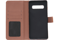 V-DESIGN BV 540 , Bookcover, Samsung, Galaxy S10, Kunstleder, Braun