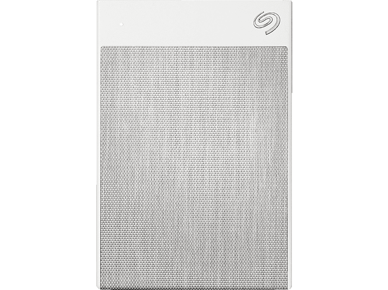 SEAGATE Backup Plus Ultra Touch, 2 TB HDD, 2,5 Zoll, extern, Weiss