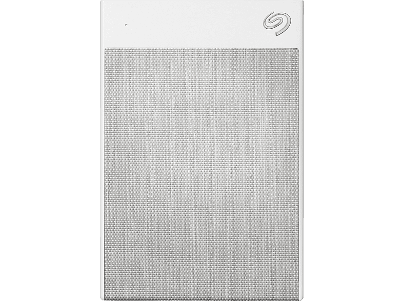 SEAGATE Backup Plus Ultra Touch, 1 TB HDD, 2,5 Zoll, extern, Weiss