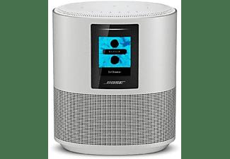 Altavoz inalámbrico - Bose Home Speaker 500, WiFi, Bluetooth, Pantalla LCD, Alexa, Plata