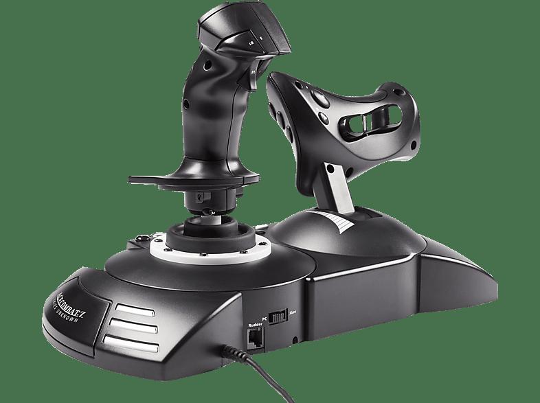 THRUSTMASTER Joystick T-Flight Hotas One für Xbox One - Ace Combat 7 , Joystick, Schwarz