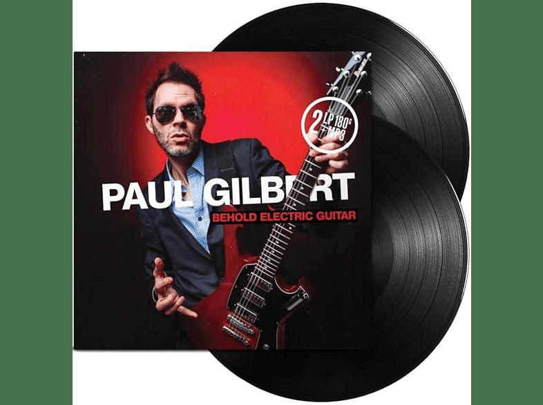 Paul Gilbert - Behold Electric Guitar (2LP Gatefold+MP3) [LP + Download]