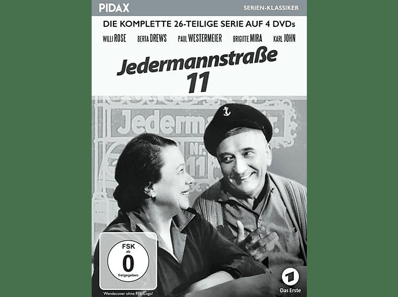 JEDERMANNSTRASSE 11 [DVD]