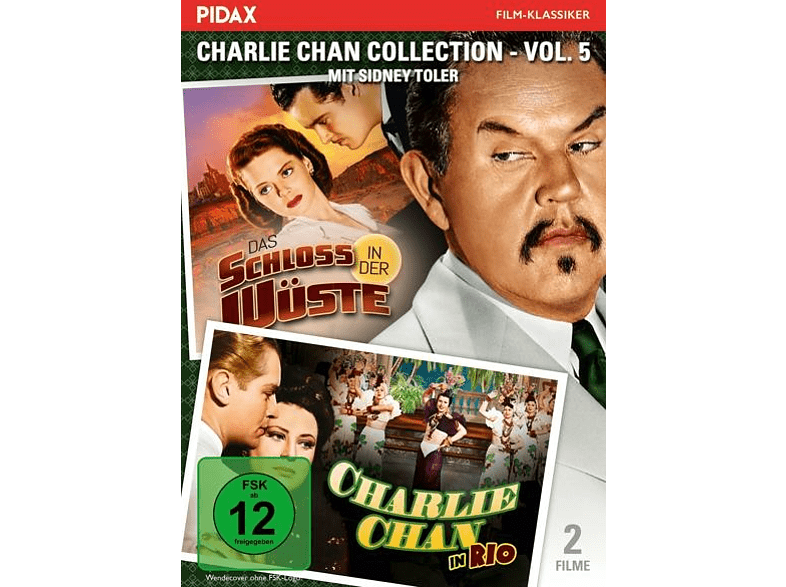 CHARLIE CHAN COLLECTION 5 [DVD]