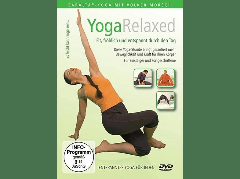 Yoga Relaxed Mit Volker Morsch [DVD]