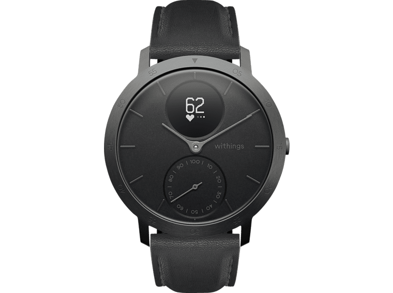 WITHINGS Steel HR Limited Edition, Smartwatch, 200 mm, Schwarz