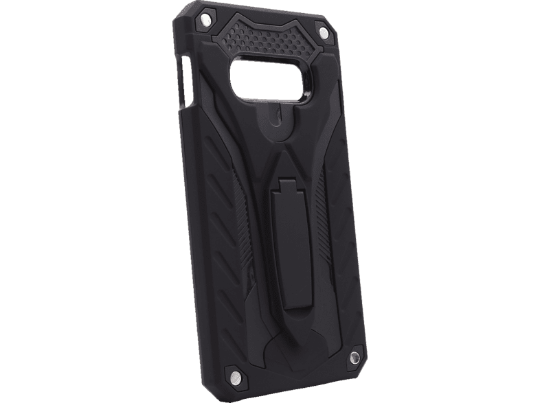 AGM 27961 COVER STAND , Backcover, Samsung, Galaxy S10e, Thermoplastisches Polyurethan, Schwarz