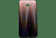 AGM 28026 POLAR , Backcover, Samsung, Galaxy J4+, Gehärtetes Glas, Thermoplastisches Polyurethan, Braun/Mehrfarbig