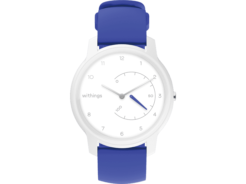WITHINGS Move, Smartwatch, 200 mm, Weiß/Blau