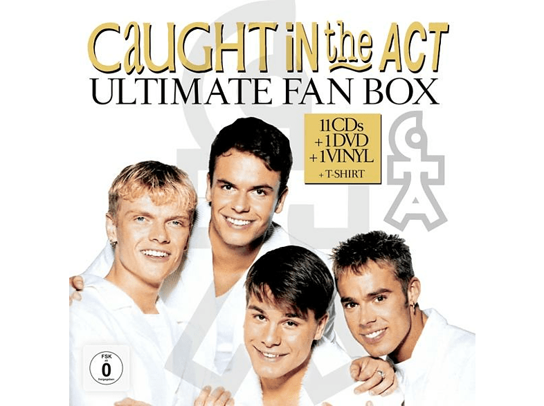 Caught In The Act - The Ultimate Fan Box.11CDs+DVD+Vinyl+T-Shirt [LP + DVD + CD]