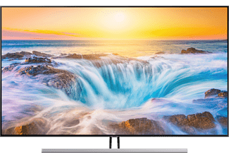 samsung fernseher q85r 2019 75 zoll uhd hdr smart tv. Black Bedroom Furniture Sets. Home Design Ideas