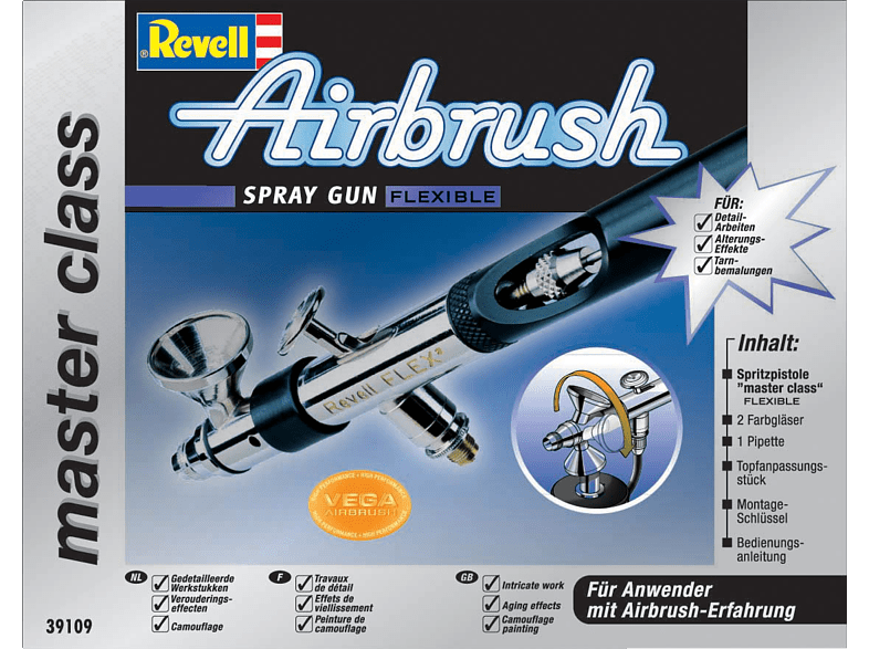 REVELL Spray Gun'Master Class' Flexible Spritzpistole