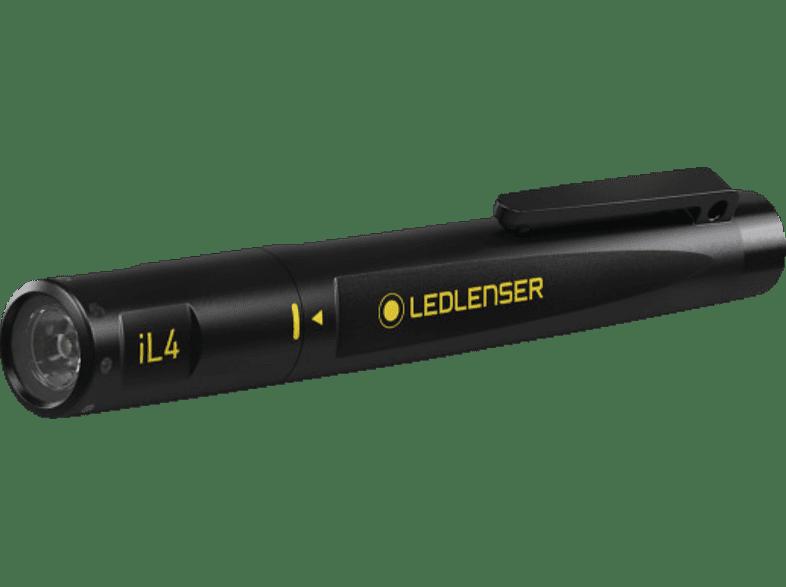 LEDLENSER iL4 Taschenlampe, Schwarz