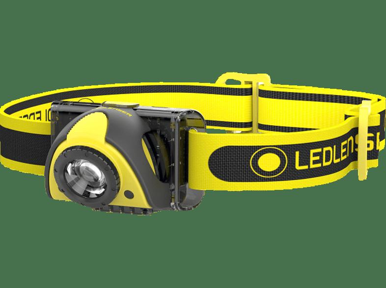 LEDLENSER iSeo3 Stirnlampe, Schwarz