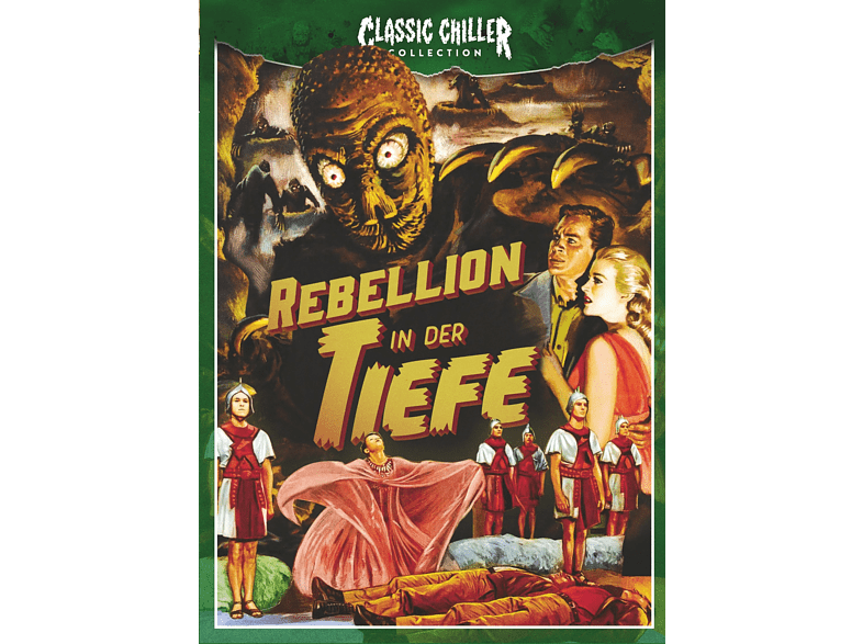 Rebellion in der Tiefe (Classic Chiller Collection) [Blu-ray + DVD]