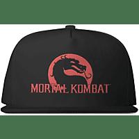 NUMSKULL Mortal Kombat Dragon Snapback Snapback, Schwarz/Rot
