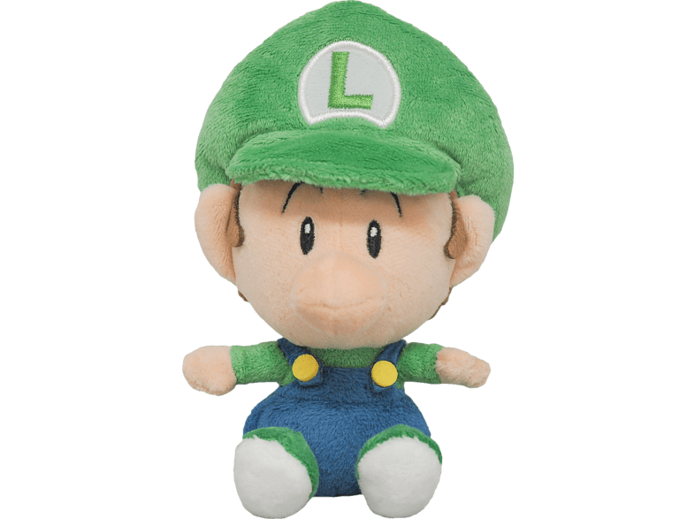 AMS Nintendo Baby Luigi Plüschfigur, Mehrfarbig