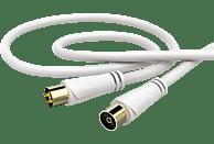 HAMA Koax-Stecker - Koax-Kupplung 1.5 m Antennenkabel