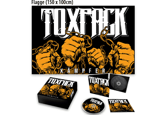 Toxpack - Kämpfer (Exklusive Edition mit Flagge 150x100 cm) - (CD)