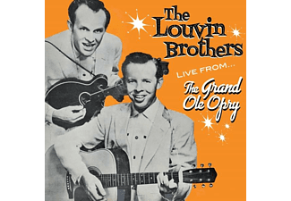 The Louvin Brothers - Live From The Grand Ole Opry - (CD)