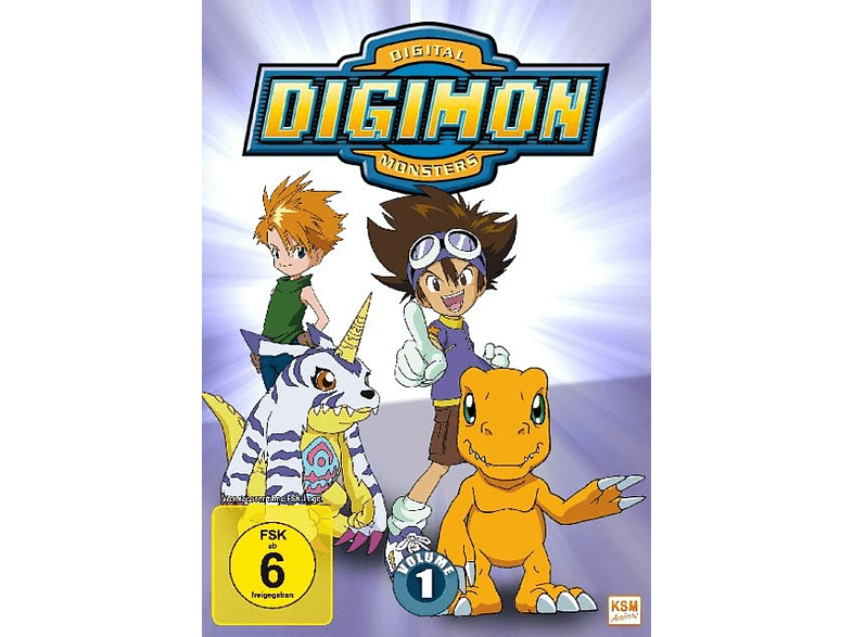 Digimon Adventure-Staffel 1,Vol.1: [DVD]