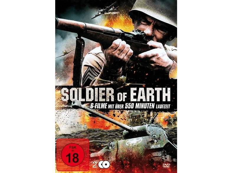 Soldier Of Earth (6 Filme Auf 2 DVDS) [DVD]