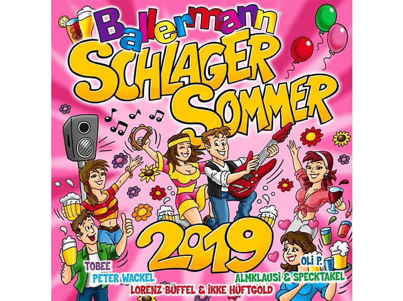 VARIOUS - Ballermann Schlagersommer 2019 [CD]