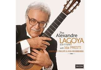 Alexandre Lagoya - The Alexandre Lagoya With Ida Presti CD