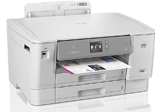 Impresora - Brother HL-J6000DW, Inyección de tinta, A3, Color, 20 ppm, Doble cara, Wi-Fi