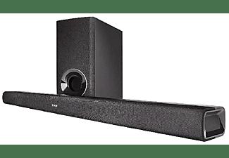Barra de sonido - Denon DHT-S316, Subwoofer inalámbrico, Bluetooth, Dolby Digital, DTS, HDMI, Negro