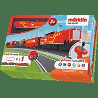 MÄRKLIN 29340 - Startpackung Feuerwehr Eisenbahn, Rot
