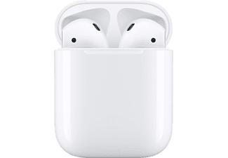 APPLE Draadloze oortjes AirPods 2 + oplaadstation (MV7N2ZM/A)