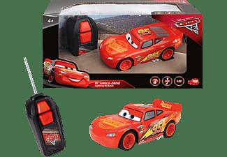 DICKIE TOYS RC Fahrzeug Cars 3 Lightning McQueen Single Drive RC Fahrzeug Rot