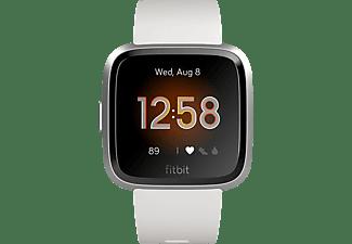 FITBIT Versa Lite Smartwatch Aluminium Kunststoff, S,L, Weiß/Silber