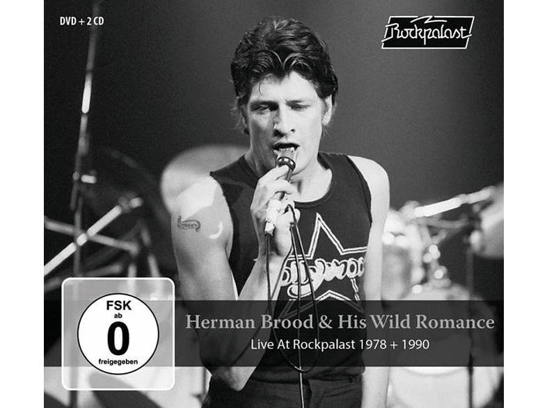 Herman & His Wild Romance Brood - Live At Rockpalast (2CD+DVD) [CD + DVD Video]