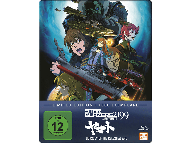 Star Blazers 2199 - Space Battleship Yamato-Odysee of the Celestial Arc [Blu-ray]