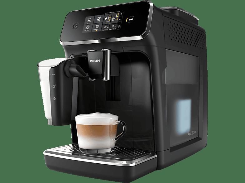 PHILIPS EP 2231/40 2200 LatteGo Kaffeevollautomat Matt-Schwarz/Klavierlack-Schwarz