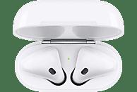 APPLE AirPods mit Ladecase 2. Gen, In-ear True-Wireless-Kopfhörer Bluetooth Weiß