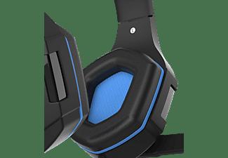 PIRANHA HP 25, Over-ear Gaming Headset Schwarz/Blau