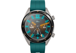 HUAWEI Watch GT Active Smartwatch Metall Fluorelastomer, 140-210 mm, Dark Green