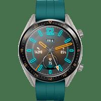 HUAWEI  Watch GT Active Smartwatch Metall, Fluorelastomer, 140-210 mm, Dark Green