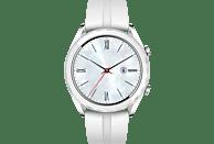 HUAWEI  Watch GT Elegant Smartwatch Metall, Fluorelastomer, 130-190 mm, Weiß