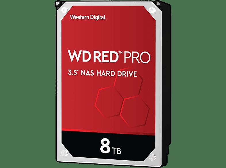WD Red™ Pro NAS-Festplatte 8 TB, BULK, 8 TB HDD, 3.5 Zoll, intern