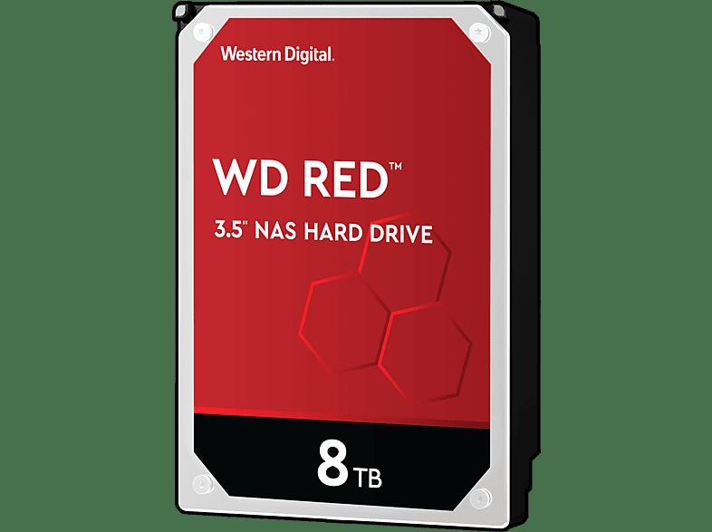 WD Red™ NAS-Festplatte 8 TB, BULK, 8 TB HDD, 3.5 Zoll, intern