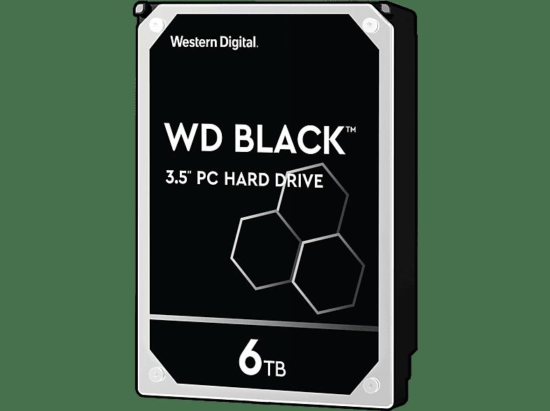 WD Black™ BULK, 6 TB HDD, 3.5 Zoll, intern