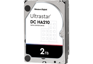 WD DC HA210 Festplatte, 2 TB Interner Speicher SATA 6 Gbps, 3,5 Zoll, intern