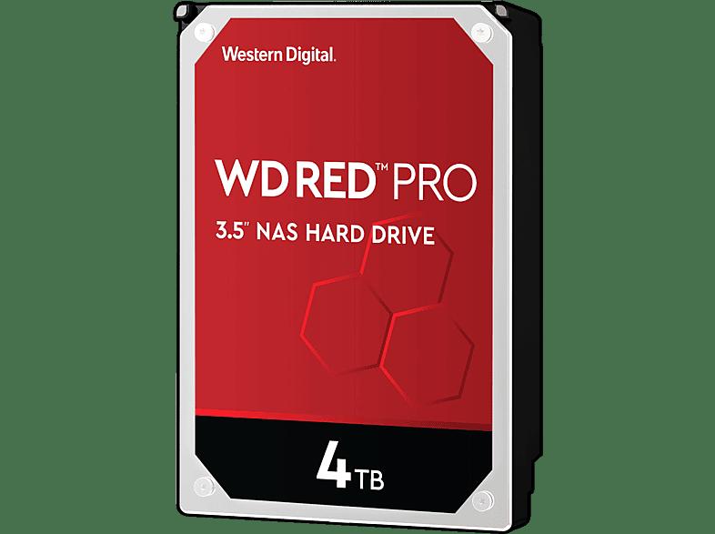WD Red™ Pro NAS-Festplatte 4 TB, BULK, 4 TB HDD, 3.5 Zoll, intern